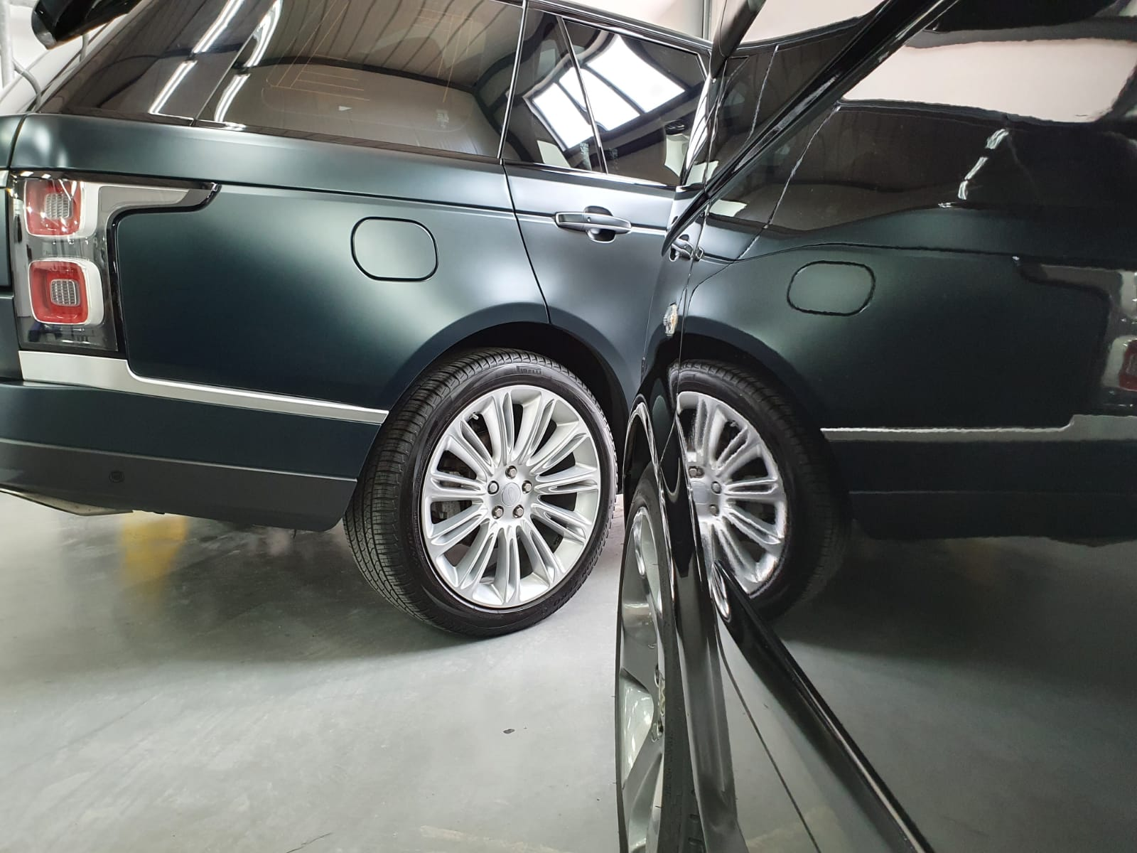 Range Rover glascoating